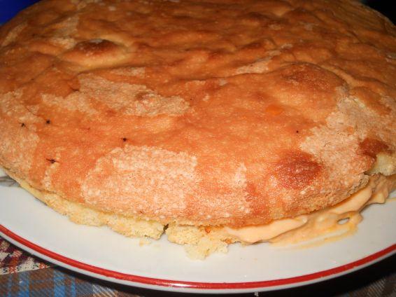 Снимка 4 от рецепта за Свежа торта с кайсиев крем