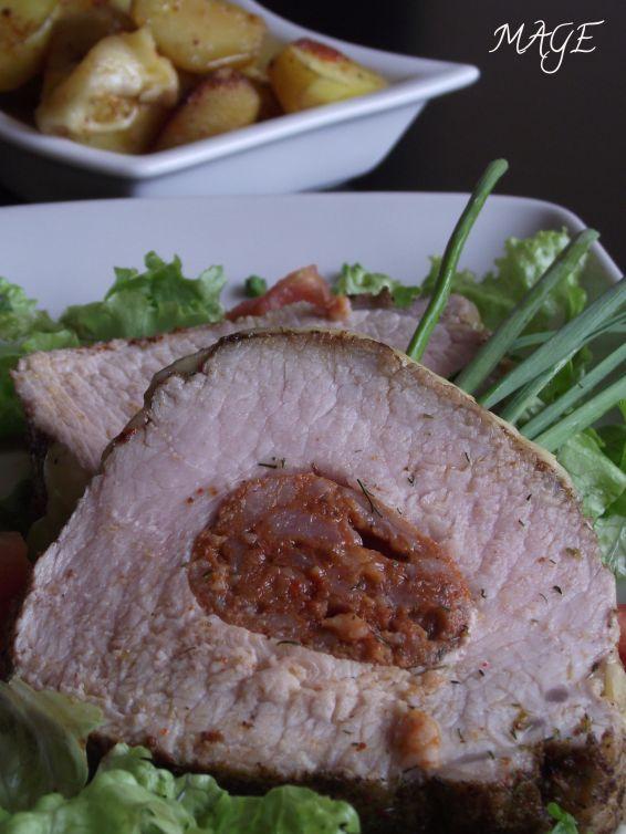 Снимка 3 от рецепта за Свинско контра филе с кашкавалена коричка
