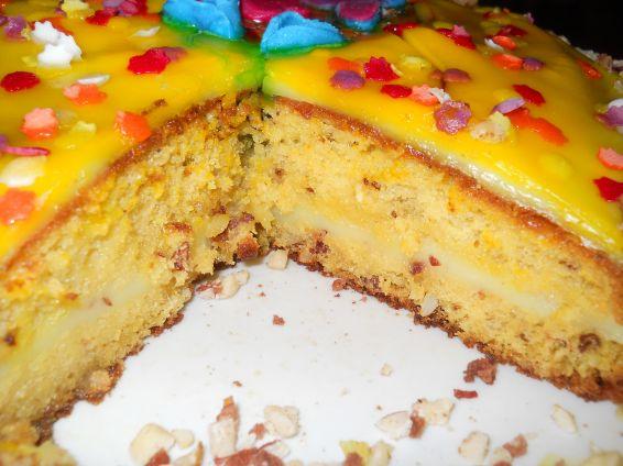 Снимка 3 от рецепта за Торта `Пролетно настроение`