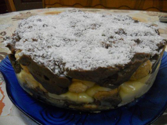 Снимка 3 от рецепта за Торта с кроасани - II вариант