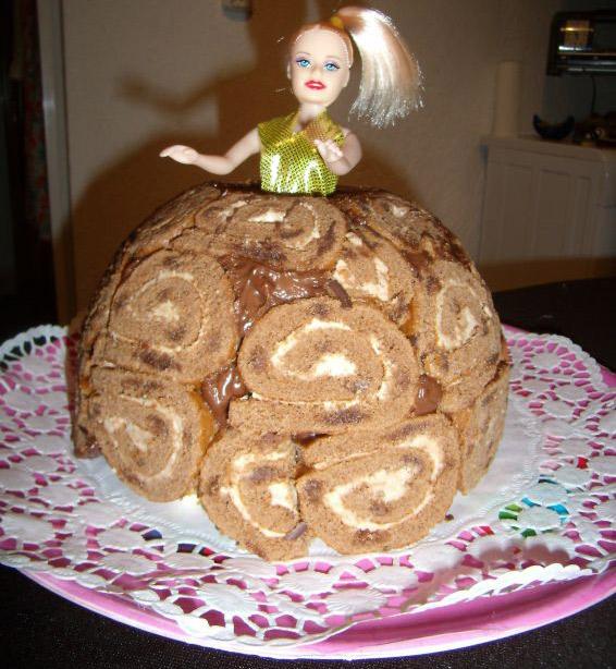 Снимка 7 от рецепта за Торта с рула