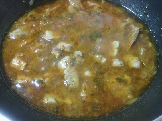 Снимка 4 от рецепта за Винен кебап  със свинско месо
