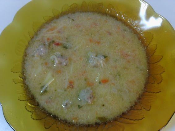 Снимка 6 от рецепта за Вкусна супа топчета