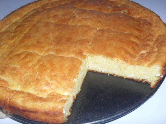 Снимка 2 от рецепта за Закуска с брашно и царевичен грис