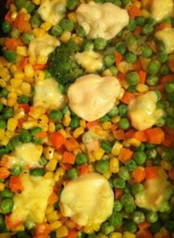 Снимка 4 от рецепта за Зеленчуци на фурна