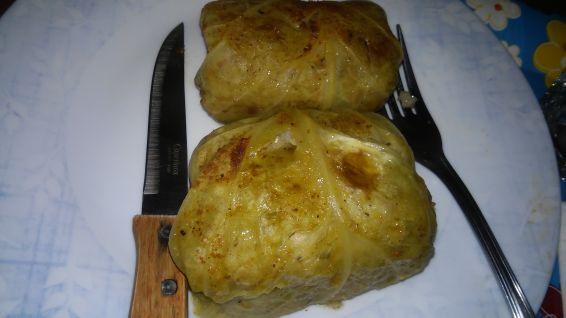 Снимка 6 от рецепта за Зелеви сармички