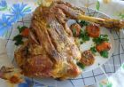 Рецепта за Печено ярешко бутче
