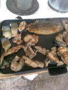 Рецепта за Пeчен на скара черноморски паламуд