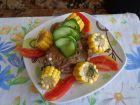 Рецепта за Печено агнешко с градински чай