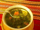 Рецепта за Спаначена супа с пиле