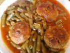 Рецепта за Зелен фасул с кюфтенца