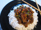 Рецепта за Свинско със зеленчуци `Индонезия`