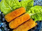 Рецепта за Картофени крокети с шунка