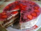 Рецепта за Бисквитена торта Виолетка