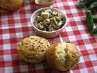 Рецепта за Кифлички с извара и зелени подправки