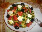 Рецепта за Селска лятна салата с тиквички
