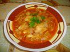 Рецепта за Лучена яхния с пилешко месо