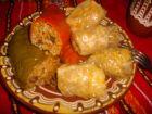 Рецепта за Чушки пълни с ориз и гъби и сарми