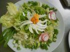 Рецепта за Празнична свежа салата