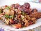 Рецепта за Ориз по китайски и хрупкави мариновани крилца