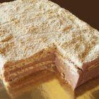 Рецепта за Бисквитена торта с вафли