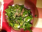 Рецепта за Зелена салата със семена