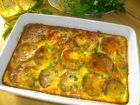 Рецепта за Тиквички с яйца и сирене на фурна