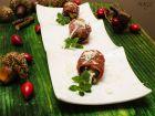 Рецепта за Пълнени фурми с кестени, обвити с прошуто