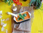 Рецепта за Супа от печени червени чушки и амарант