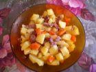 Рецепта за Салата със саздърма и кашкавал