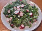 Рецепта за Салата от марулка и репички с пресен магданоз и зелен лук