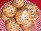 Рецепта за Мъфини с луканка, сирене и кашкавал