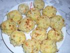 Рецепта за Кюфтенца с ориз и зеленчуци, оваляни в трохи