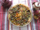 Рецепта за Ориз с пилешки воденички, дробчета и зеленчуци
