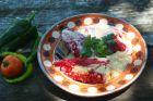 Рецепта за Пълнени чушки с кайма и ориз в бял сос