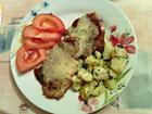 Рецепта за Пържолки със сос и гарнитура