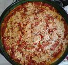 Рецепта за Пица с картофен блат