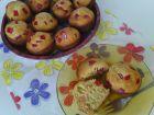 Рецепта за Мъфини с локум от нар, орехи и тръстикова захар