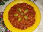 Рецепта за Вкусна салата от червени чушки