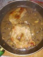 Рецепта за Коледно Новогодишни котлети с гъби и сос