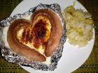 Рецепта за Кренвирши сърца със сирене и цяло яйце