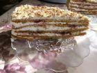 Рецепта за Френска селска торта със сладко от боровинки