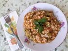 Рецепта за Готвен ориз с домати и бамя