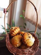 Chocolate Chip Muffins с лешници