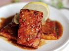 Рецепта за Маринована сьомга с розмарин