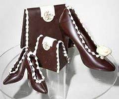 Обувки от шоколад