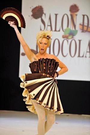 Рокля от шоколад