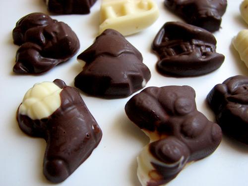 Детски шоколадови бонбони